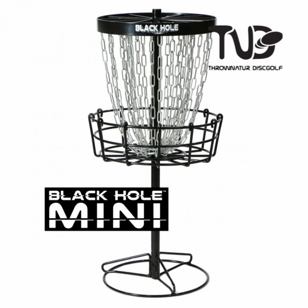 Mini Black Hole Basket | MVP Disc Sports
